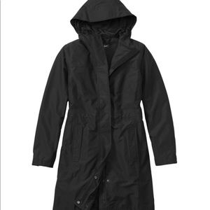 LL Bean H2OFF Rain Jacket